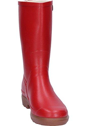 Aigle Botano Lady Cardinal, Gummistiefel Rot
