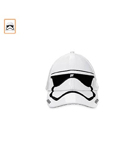 Stormtroope Disney Faux Patent Leather Baseball Cap - Star Wars - - Leather Wars Hat Star