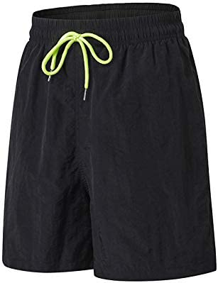 TOMSHOO Pantaloncini Sportivi da Uomo Abbigliamento Sportivo da Corsa ad Asciugatura Rapida Pantaloncini dalle Prestazioni Larghe con Tasche