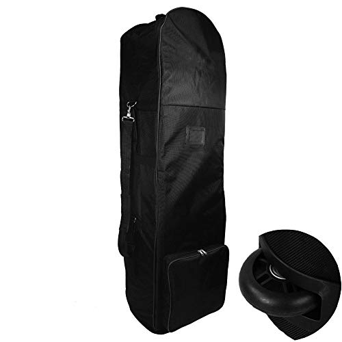 zeudas Travel Golf Bag 1680D Nylon Golf Travel Bags for Airlines with Wheels