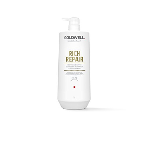 Goldwell Dualsenses Rich Repair Restoring Shampoo - Healthy, Shiny, Smooth Nourished Hair - ()