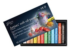 Mungyo Gallery Soft Oil Pastels Set of 12 - Assorted Colors by Mungyo Gallery