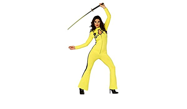 Horror-Shop Disfraz De Niña De Kung Fu Kiddo One Size: Amazon.es ...