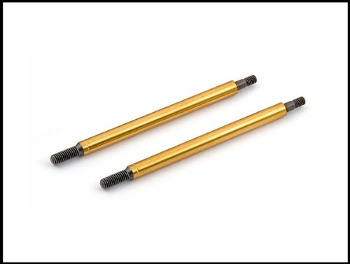 Team Associated 89053 RC8 Gold Front Shock Shaft, 29mm