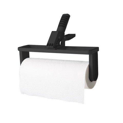 Clip 'n Rip Paper Towel Holder (2 Pack) - Black
