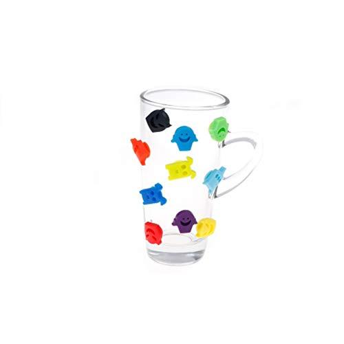 Accessories Accessories - 10pcs Set Party Dedicated Suction Cup Wine Glass Silicone Label Rubber Glasses Recognizer Marker - Accessori Accessories -