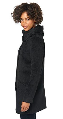 TOM TAILOR Denim Abrigo Mujer negro