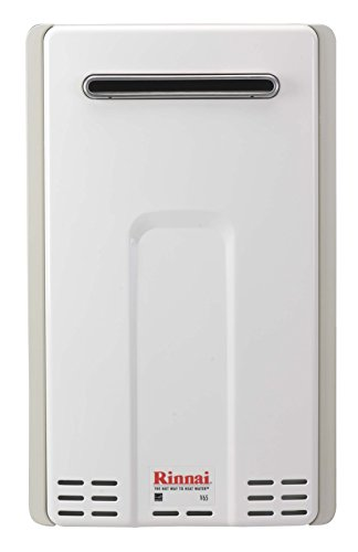 Rinnai V65EN 6.6 GPM Outdoor Low NOx Tankless Natural Gas Water - Power Vent Heater Gas Water