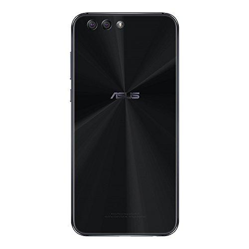 ASUS ZenFone 4 ZE554KL 64GB Midnight Black, Dual SIM, 5.5-inches, 4GB RAM, GSM Unlocked International Model, No Warranty