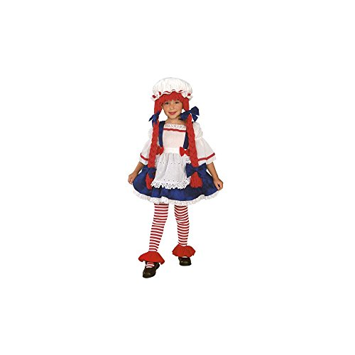 Scary Doll Halloween Costumes Ideas (Rag Doll Girl - Toddler)