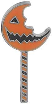 ハロウィーンの不規則なカボチャブローチ漫画ゴースト顔邪悪なカボチャ合金ブローチ