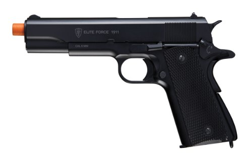 Umarex Elite Force 1911 Blowback CO2 Powered 6mm BB Pistol Airsoft Gun, Black, 1911 A1 (Umarex Elite Force 1911 Tac Gen3 Airsoft Pistol)