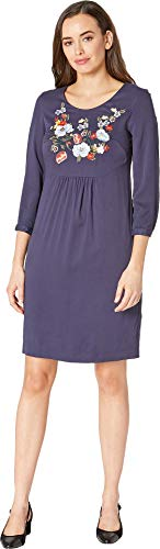 Joules Women's Alison - Long Sleeve Woven Dress French Navy 4