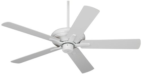 52'' Casa Vieja Paseo ENERGY STAR White Ceiling Fan by Casa Vieja