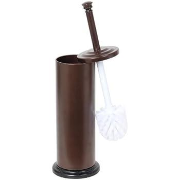 Home Basics Bronze Toilet Brush with Holder