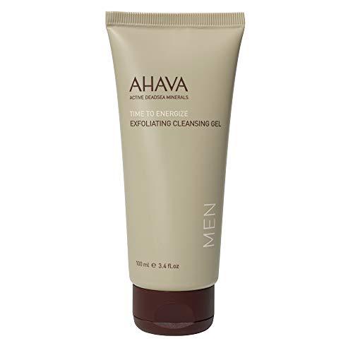 AHAVA Men's Exfoliating Cleansing Gel 100ml, 3.4 Fl Oz (Skin Gel Ahava)