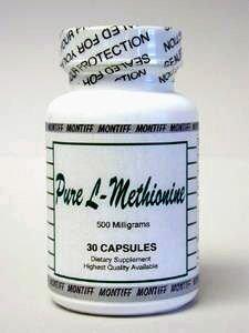 Montiff - Pure L-Methionine 500 mg 30 caps
