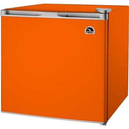 Igloo 1.6 cu ft Refrigerator ORANGE