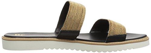 Sandal Footwear Women's Gold Flat Grand Chain BC Prize AXFdwFq