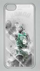 TYH - Rajon Rondo Boston Celtics #9 NBA Sports Custom PC Transparent Case for ipod Touch4 ending phone case