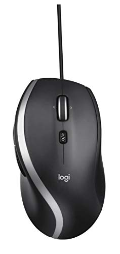 Logitech M500s Advanced Corded Mouse with Advanced Hyper-fast Scrolling & Tilt, Customizable Buttons, High Precision Tracking with DPI Switch, USB plug & play