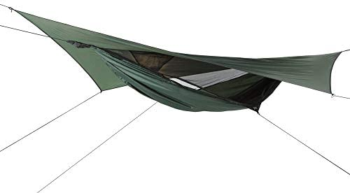 ENO, Eagles Nest Outfitters DoubleNest Lightweight Camping Hammock, 1 to 2 Person, Purple Charcoal