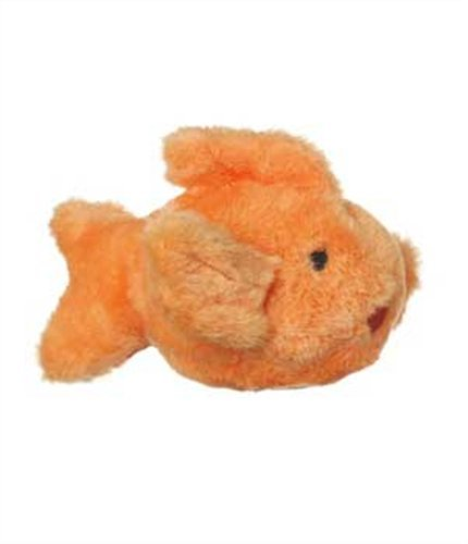 Multipet's Look Who's Talking Plush Goldfish Dog Toy, 6.5-Inch, My Pet Supplies