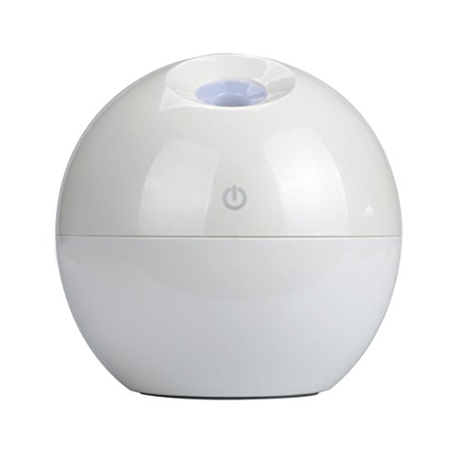 Price comparison product image Aribelly Air Purifier LED Touch Aroma Ultrasonic Humidifier USB Essential Oil Diffuser (White)