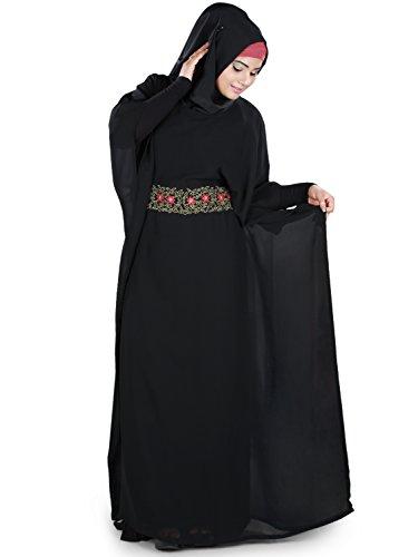 MyBatua Aanisah Kaftan Magnifiquement Broderie Burqa Robe KF-027