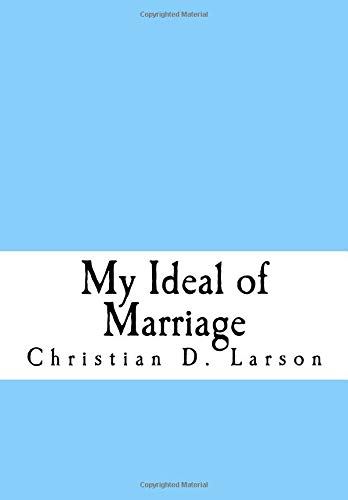 My Ideal of Marriage pdf