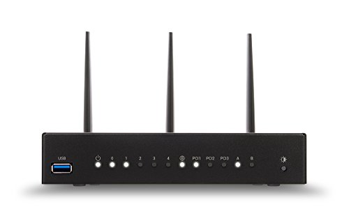 Turris Omnia 2 GB Wi-Fi high performance, open source & WiFi router / NAS / printserver / virtual server, CPU 1.6 GHz dual-core, 5x GLAN, 2x USB 3.0