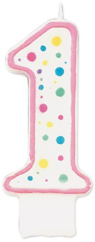 Wilton W91 01P Numeral Candle 1 5 Inch product image