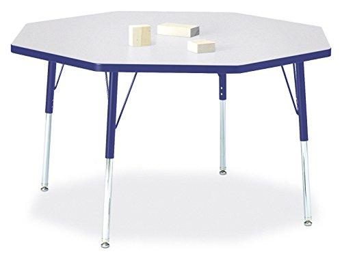 Berries 6428JCA003 Octagon Activity Table, A-Height, 48