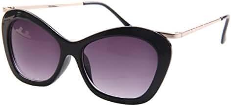 SojoS Retro Modern Thick Geometric Polygon Full Rim Women Sunglasses Eyewear