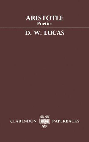 Poetics (Clarendon Paperbacks) by Aristotle