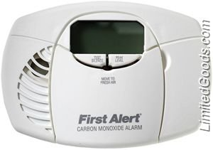 First Alert Co410 Battery Powered Carbon Monoxide Alarm With