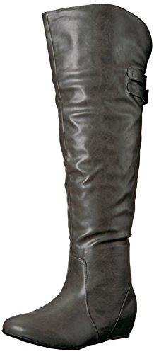 Women's Brinley Wing Knee Grey Co Boot The Over 5wqPUvxrw