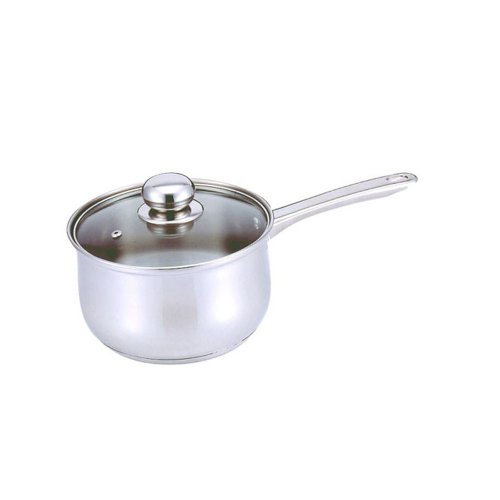 Culinary Edge 02102 Saucepan with Glass Cover, 2-Quart