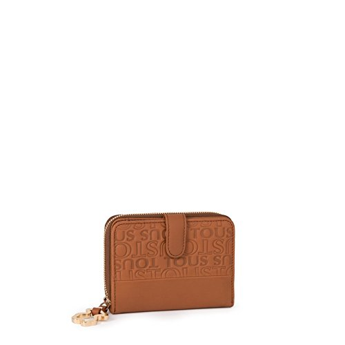 Cartera Monedero TOUS Sharita S Urbana Block Camel: Amazon ...