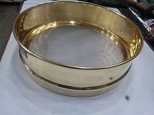 Ajanta Brass Test Sieve 12 Inch Healthcare Lab & Life Science survey Aei-320L from Ajanta