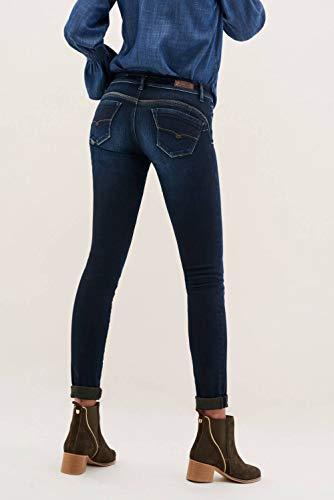 In Azzuro Push Wonder Dettagli Nappa Skinny Salsa Jeans Up Con B0qHZHw
