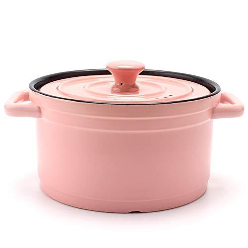 Qddan Cerámica Olla Chef Cocina Clásica Sopa De Olla Salud ...