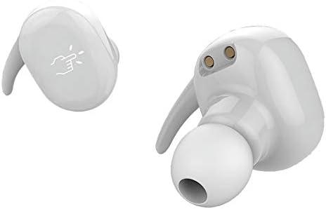 Naack Auriculares Deporte Bluetooth Inalámbricos sin Cable, Tactil Resistentes al Agua - Auriculares Manos Libres para Correr, Bici, Gimnasio, Resistente al Agua IPx7, Micrófono Incorporado