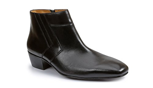 Giorgio Brutini Blackjack Plain Toe Demi Boot Black 11 M & Shoe Rag Mens Giorgio Brutini Plain Toe