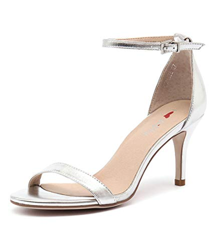 Womens Connie Shoes Heels I Silver BILLY Smooth Womens LOVE SxwBXR