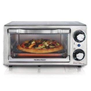 Amazon Hamilton Beach Toaster Oven Bake Broil and Toast