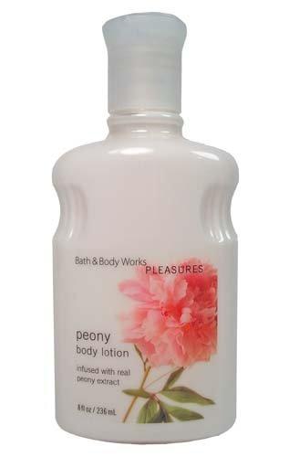 Bath & Body Works Pleasures Peony Body Lotion 8 fl oz (Body Peony Lotion)