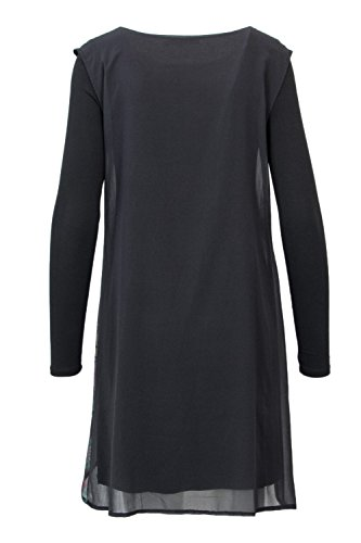 Vest Femme Anthracite Robe Desigual 18wwvw11 Courte Gretel a7txvn