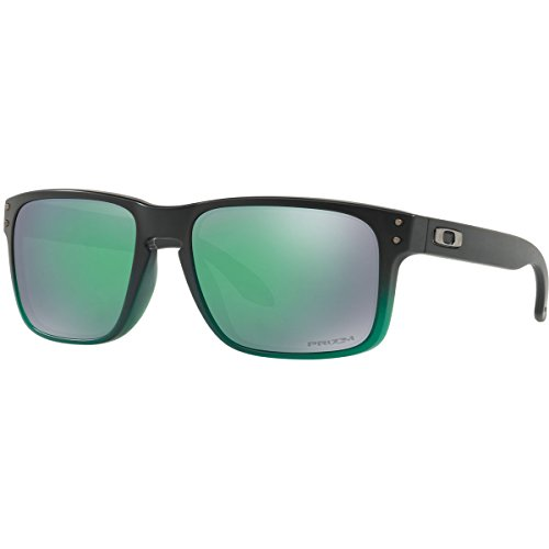 Oakley Men's Holbrook Non-Polarized Iridium Square Sunglasses, Jade Fade, 57.0 - Jade Polarized Iridium