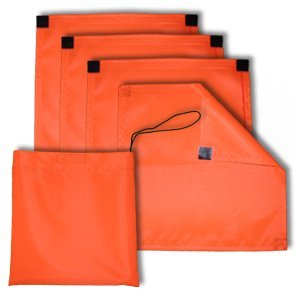 Amazon Com Blind N Site Blaze Orange Ground Blind Safety